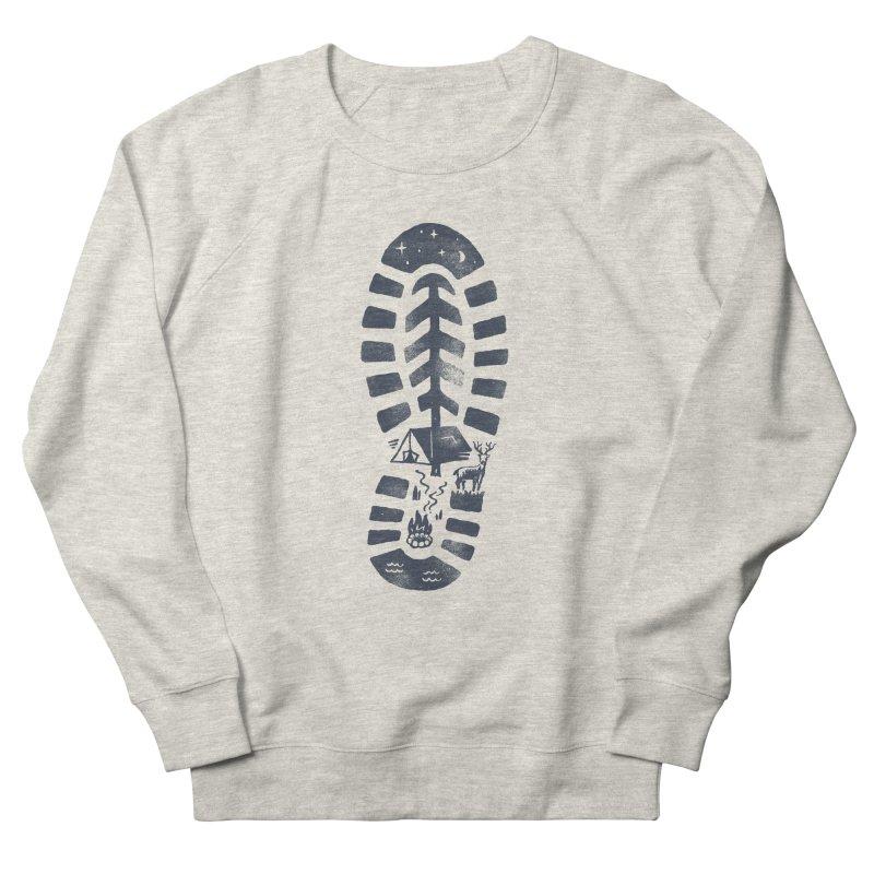 Wild Step Men's French Terry Sweatshirt by Tatak Waskitho