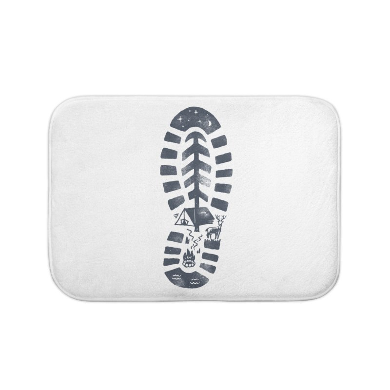 Wild Step Home Bath Mat by skitchism's Artist Shop