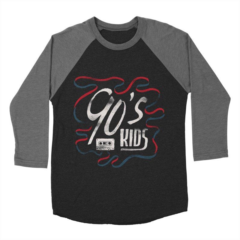 90s Kids Men's Baseball Triblend Longsleeve T-Shirt by Tatak Waskitho