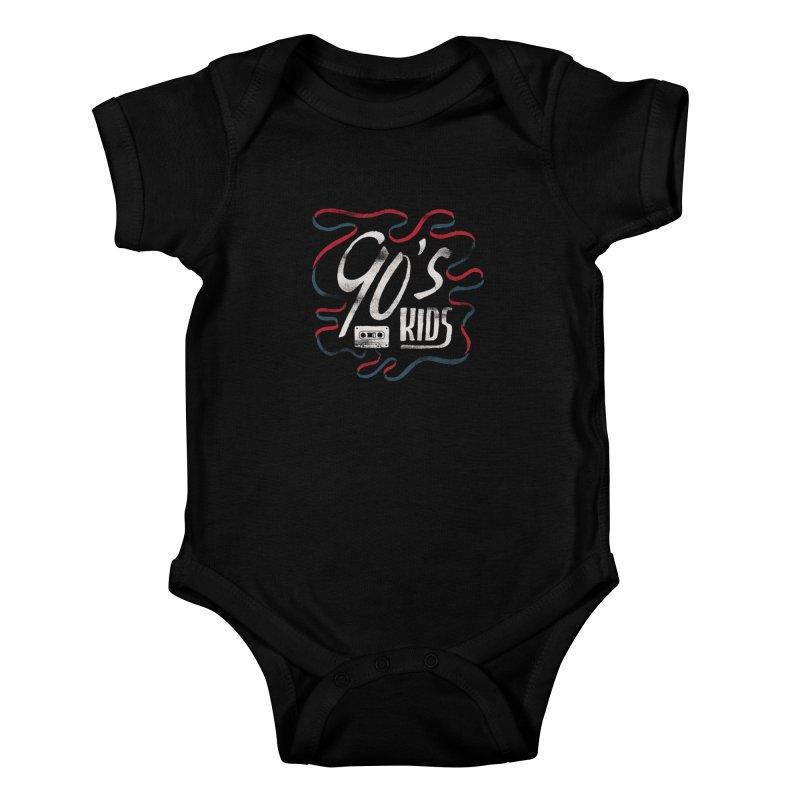 90s Kids Kids Baby Bodysuit by Tatak Waskitho