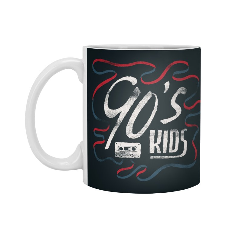 90s Kids Accessories Mug by Tatak Waskitho