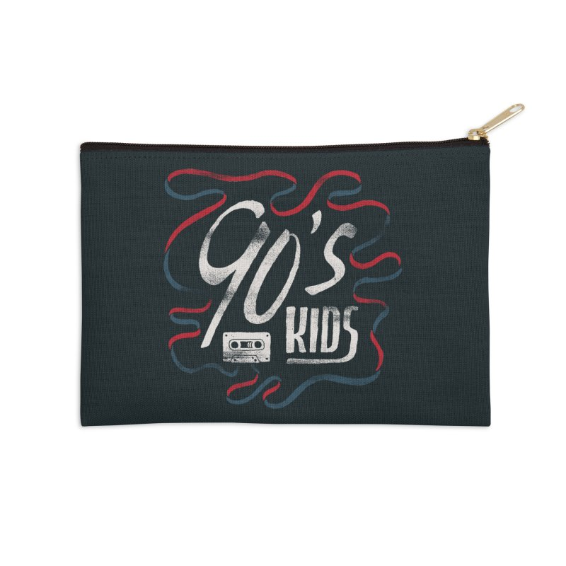 90s Kids Accessories Zip Pouch by Tatak Waskitho