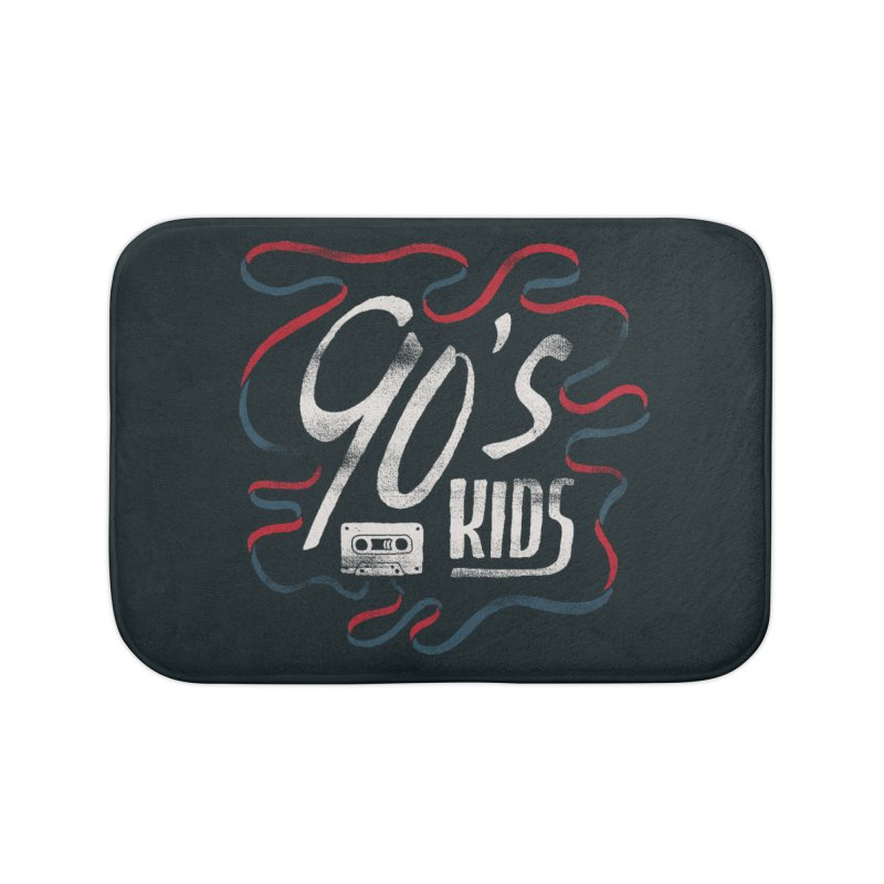 90s Kids Home Bath Mat by skitchism's Artist Shop