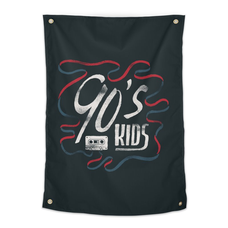 90s Kids Home Tapestry by skitchism's Artist Shop