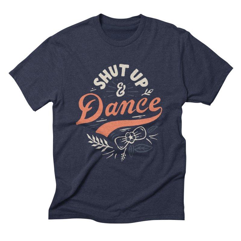 Shut Up Men's Triblend T-Shirt by skitchism's Artist Shop