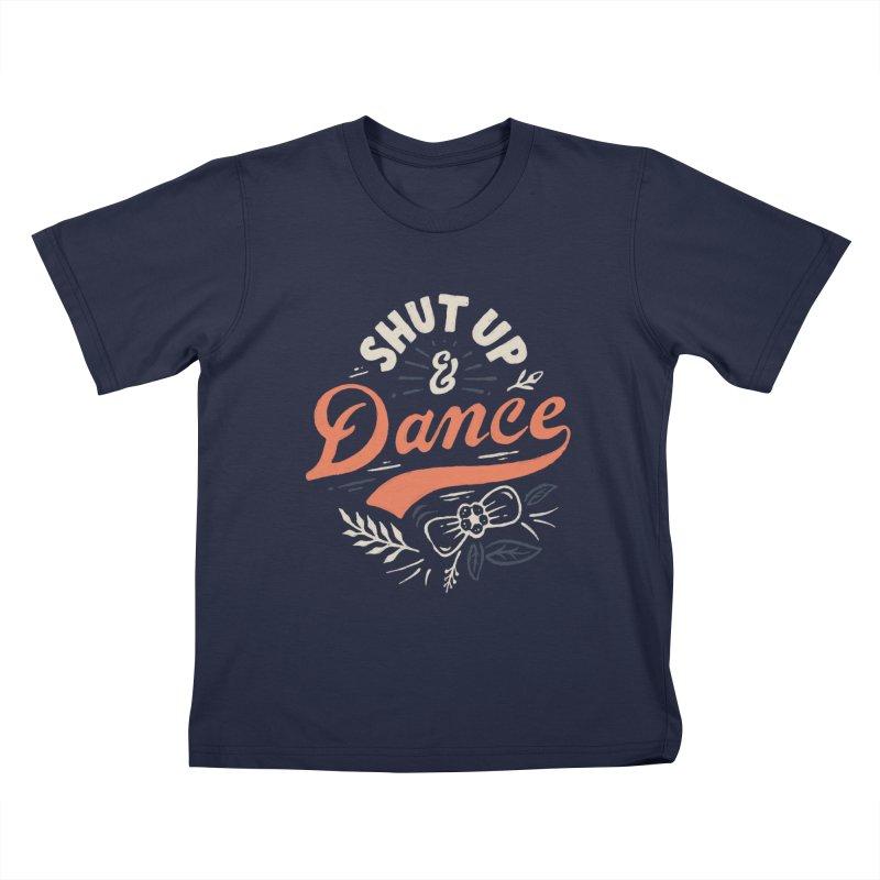 Shut Up Kids T-Shirt by skitchism's Artist Shop