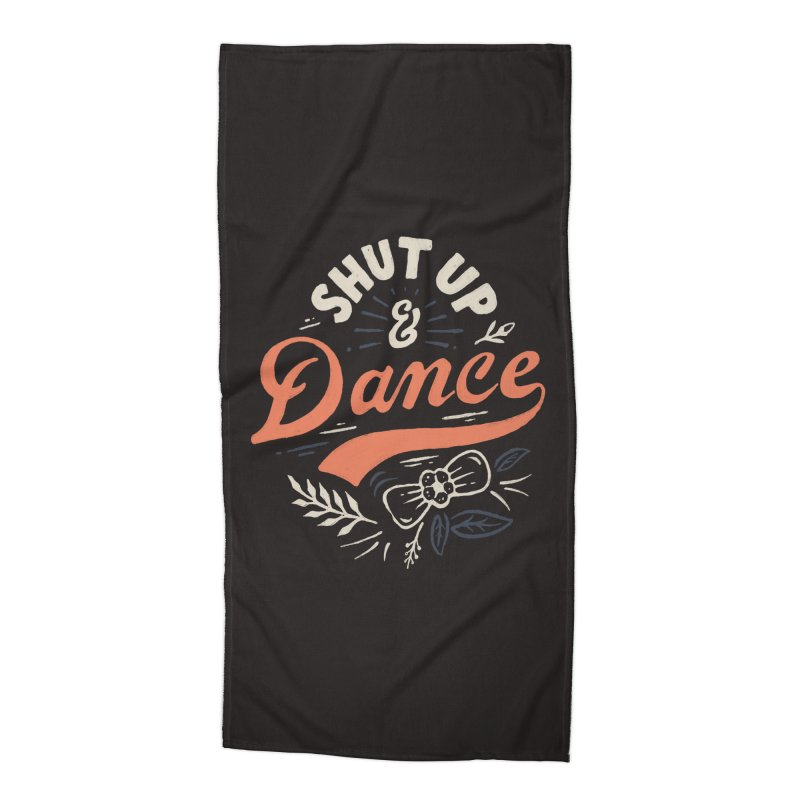 Shut Up Accessories Beach Towel by Tatak Waskitho