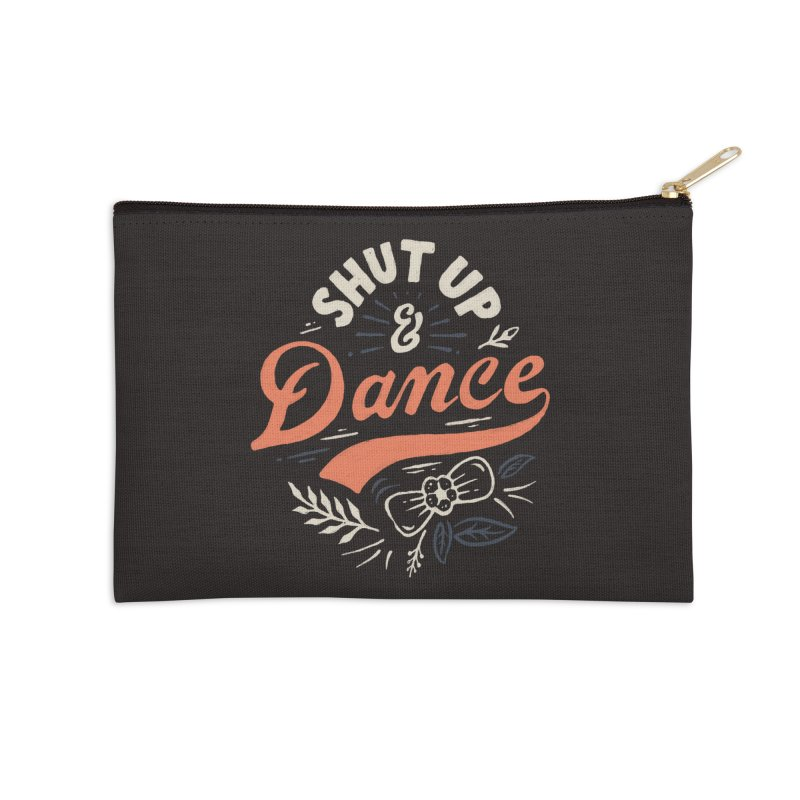 Shut Up Accessories Zip Pouch by Tatak Waskitho