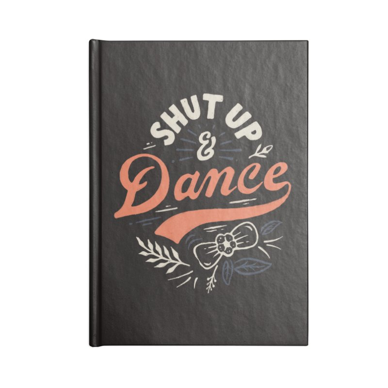 Shut Up Accessories Blank Journal Notebook by Tatak Waskitho