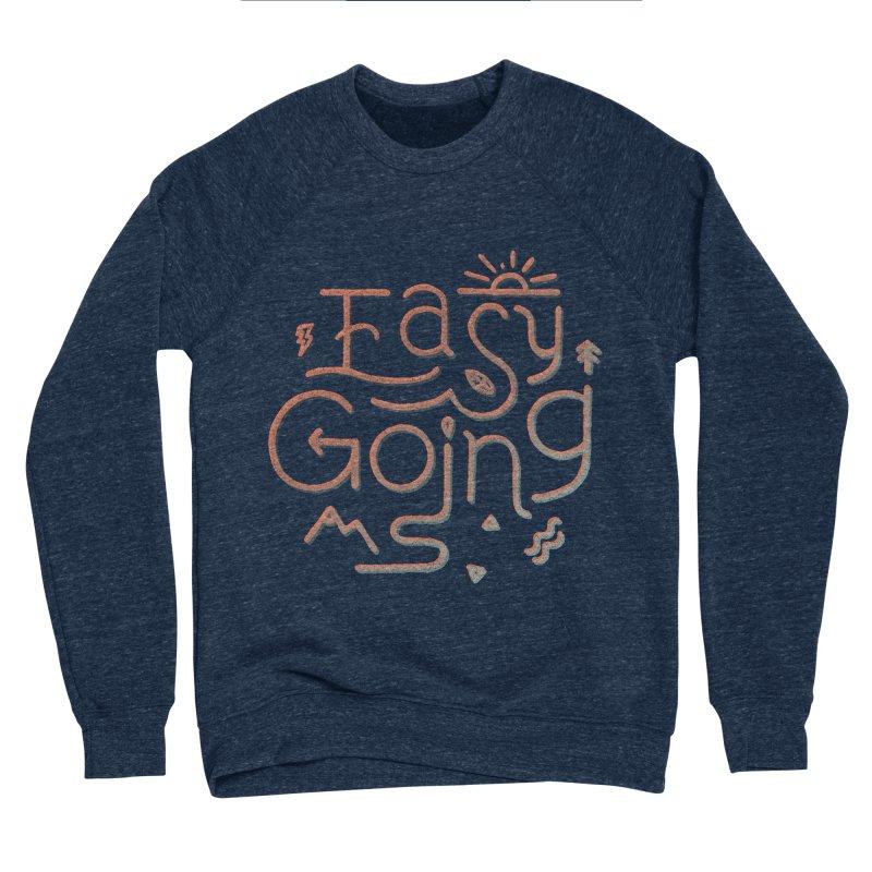 Easy Going Men's Sponge Fleece Sweatshirt by Tatak Waskitho