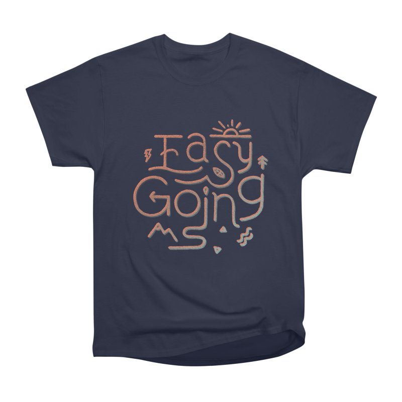 Easy Going Men's Heavyweight T-Shirt by Tatak Waskitho