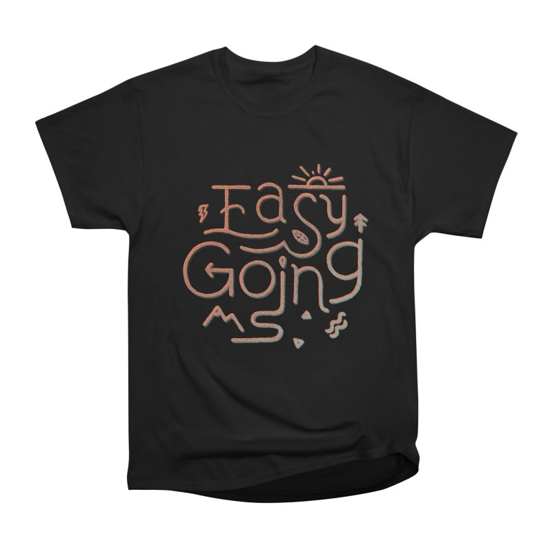 Easy Going Men's Heavyweight T-Shirt by skitchism's Artist Shop