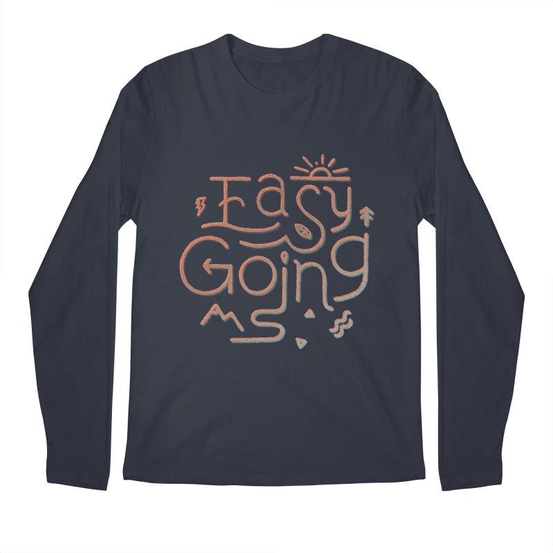 Easy Going Men's Regular Longsleeve T-Shirt by Tatak Waskitho