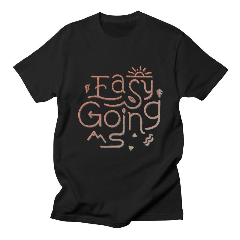 Easy Going Men's Regular T-Shirt by Tatak Waskitho