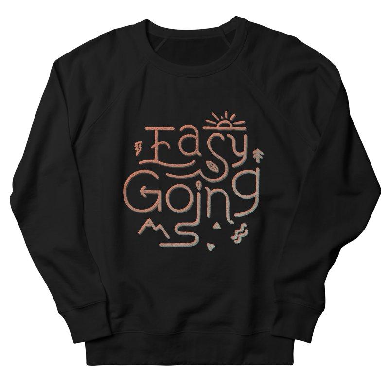 Easy Going Men's French Terry Sweatshirt by Tatak Waskitho