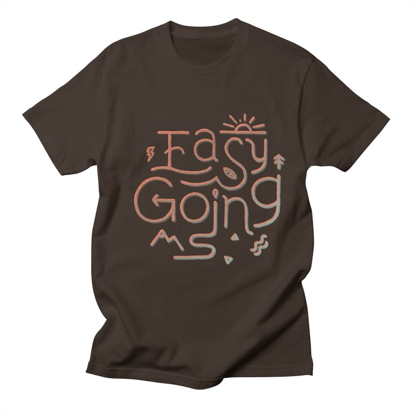 Easy Going Men's Regular T-Shirt by skitchism's Artist Shop