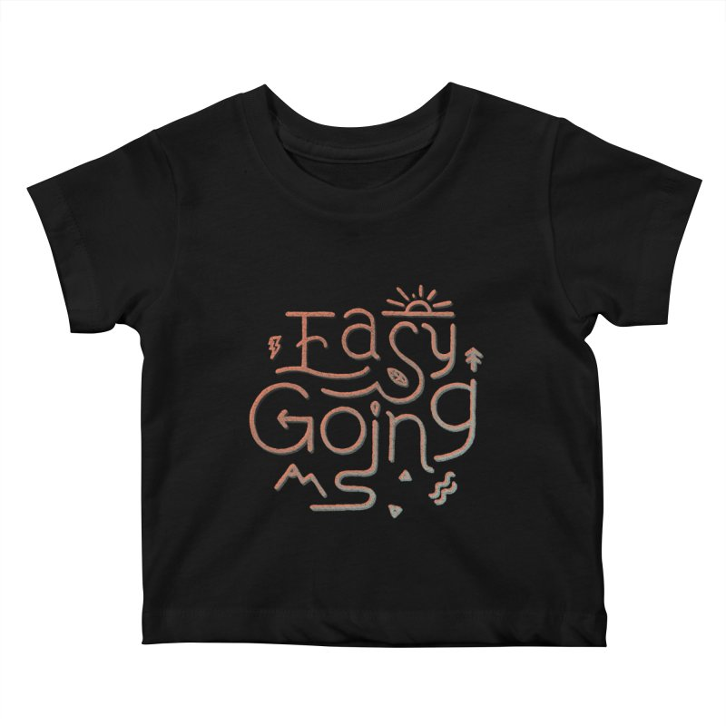 Easy Going Kids Baby T-Shirt by Tatak Waskitho