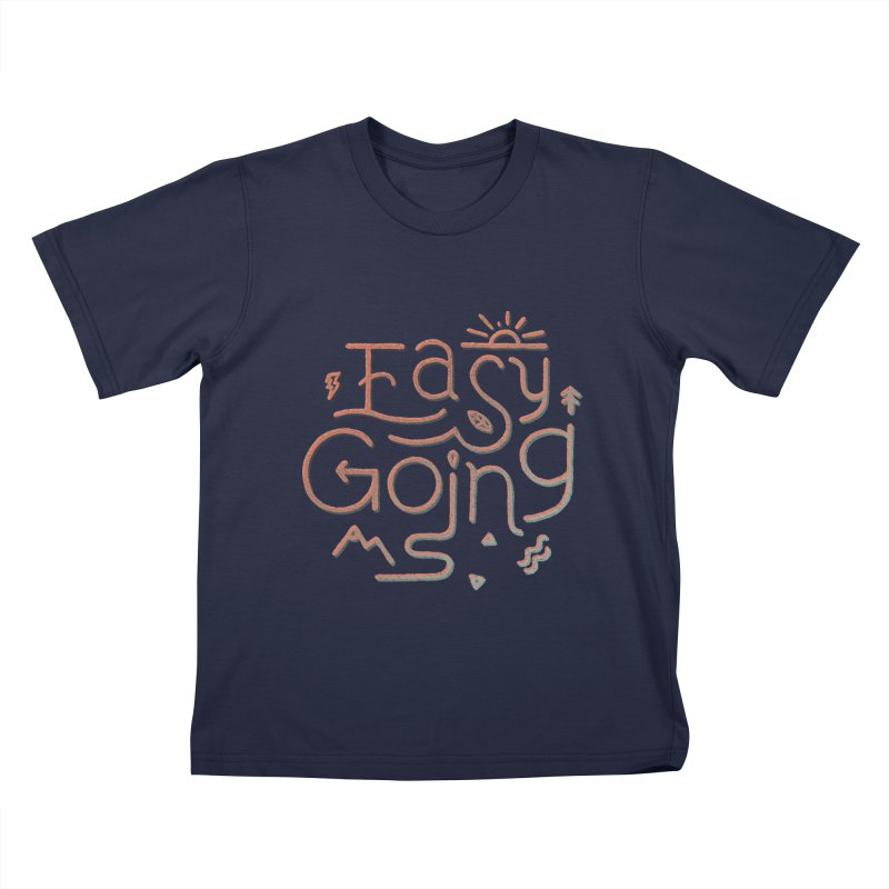 Easy Going Kids T-Shirt by Tatak Waskitho