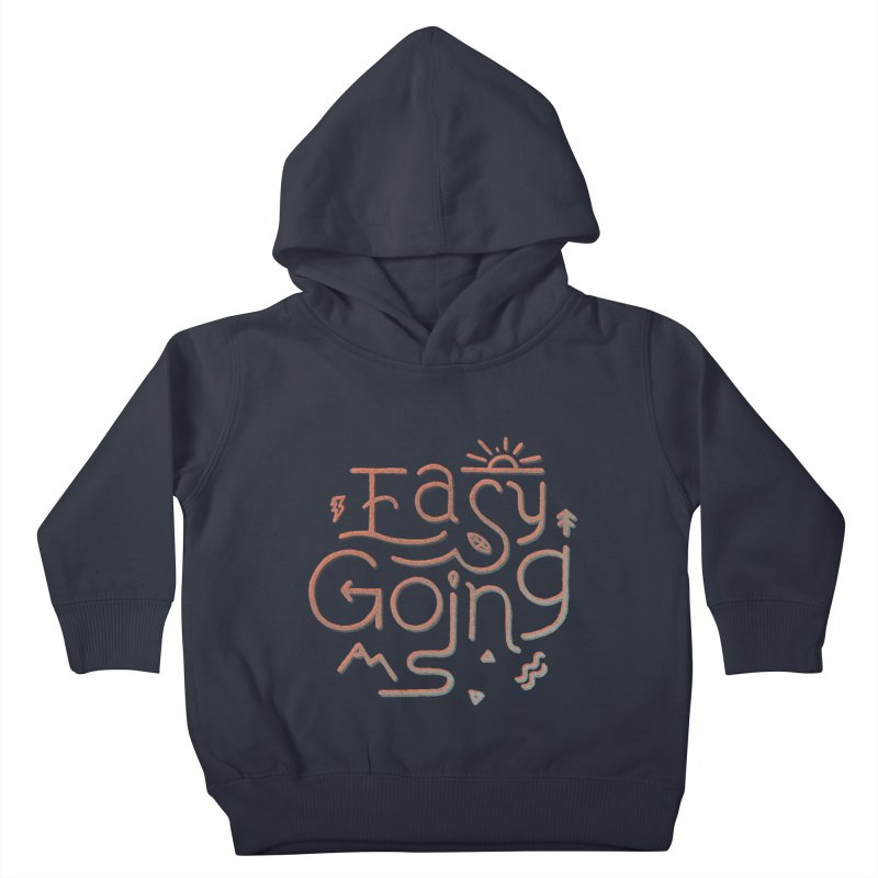 Easy Going Kids Toddler Pullover Hoody by Tatak Waskitho