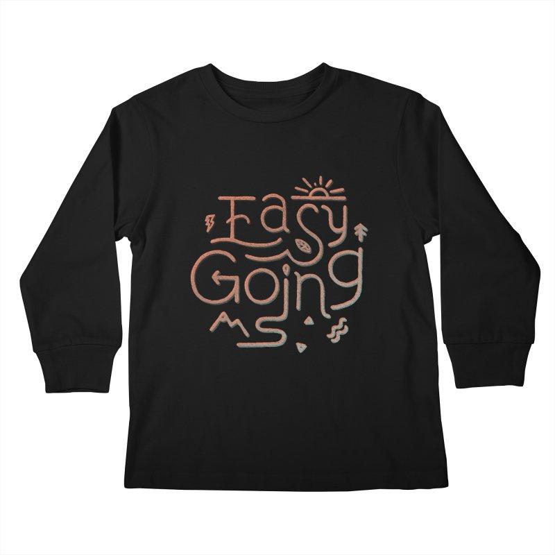 Easy Going Kids Longsleeve T-Shirt by Tatak Waskitho