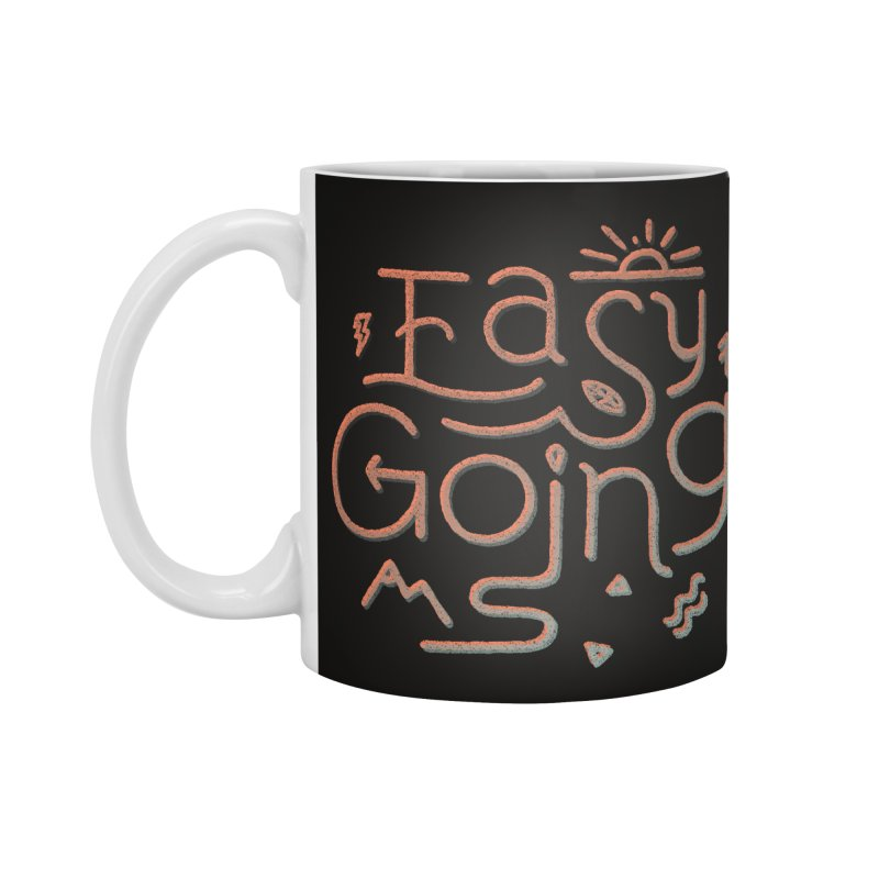 Easy Going Accessories Standard Mug by Tatak Waskitho
