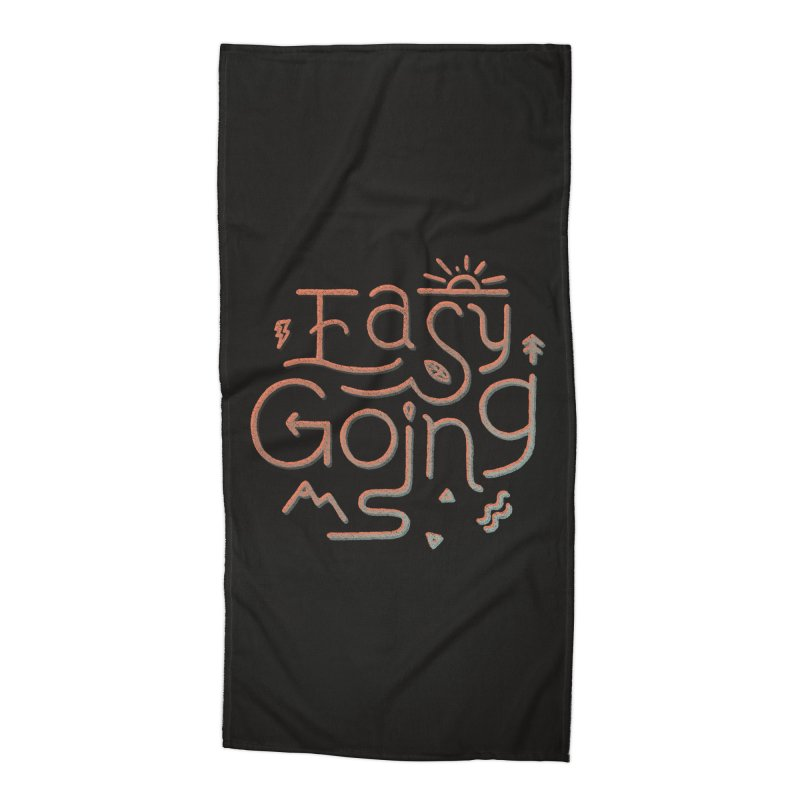 Easy Going Accessories Beach Towel by Tatak Waskitho
