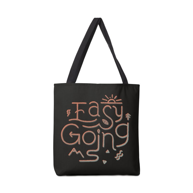 Easy Going Accessories Bag by skitchism's Artist Shop