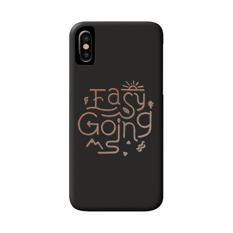 Easy Going Accessories Phone Case by skitchism's Artist Shop