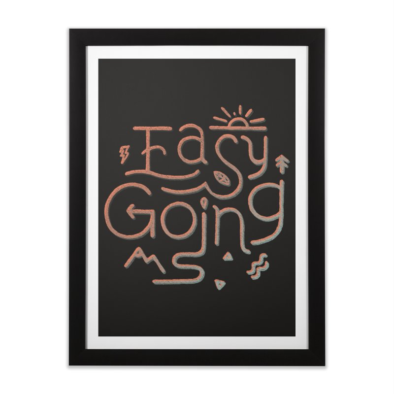 Easy Going Home Framed Fine Art Print by Tatak Waskitho