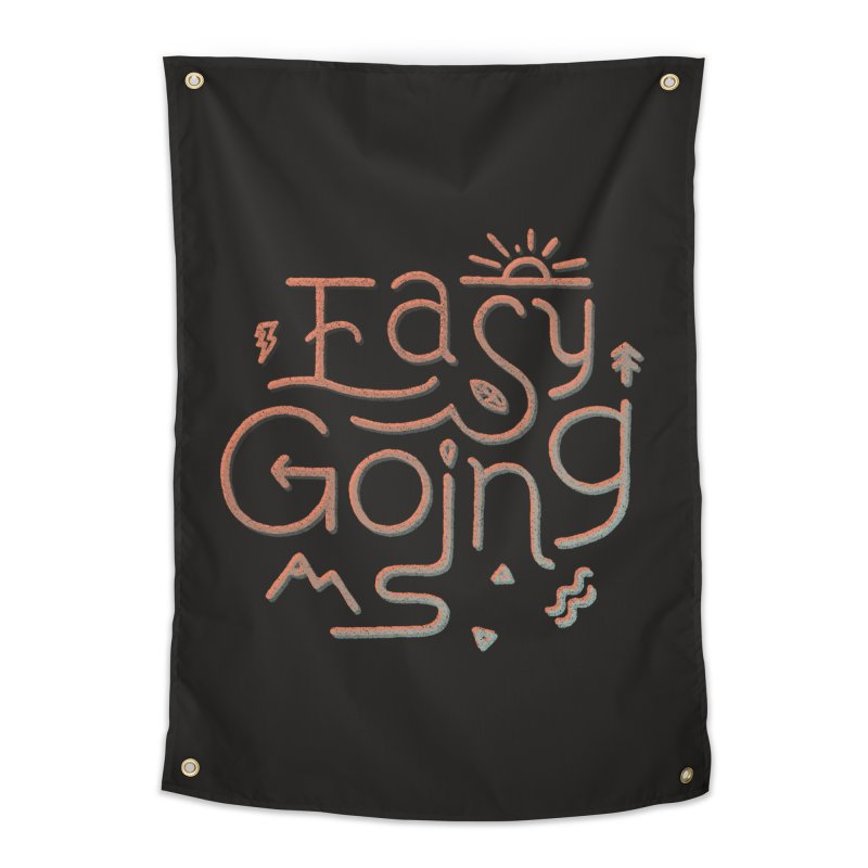 Easy Going Home Tapestry by Tatak Waskitho