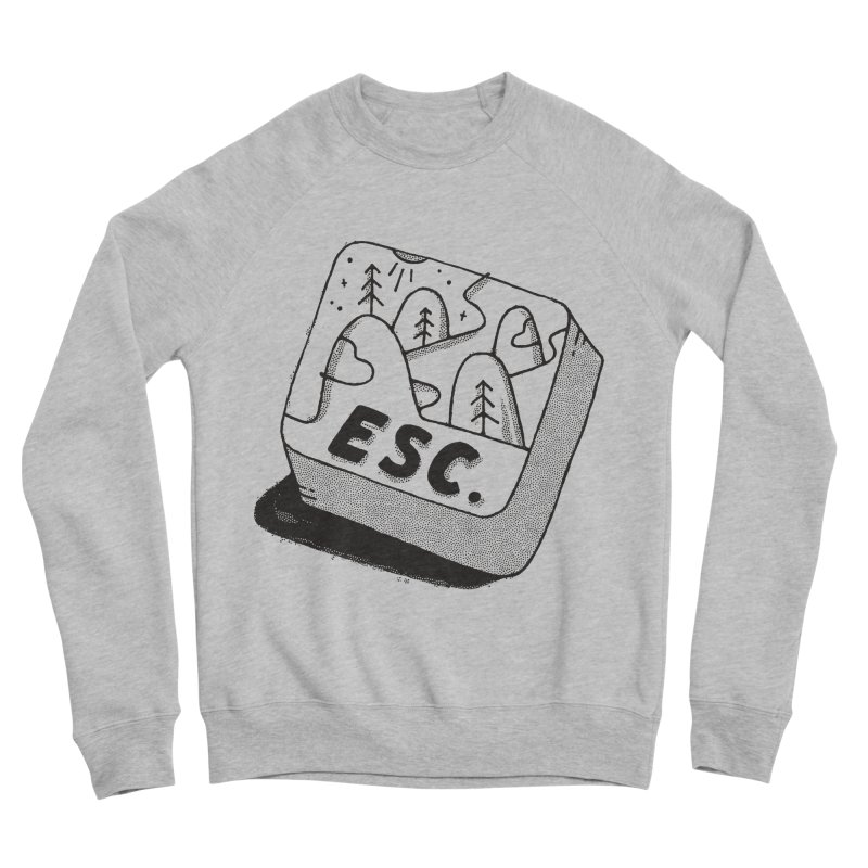 Esc Women's Sponge Fleece Sweatshirt by skitchism's Artist Shop