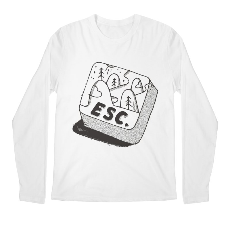 Esc Men's Regular Longsleeve T-Shirt by Tatak Waskitho