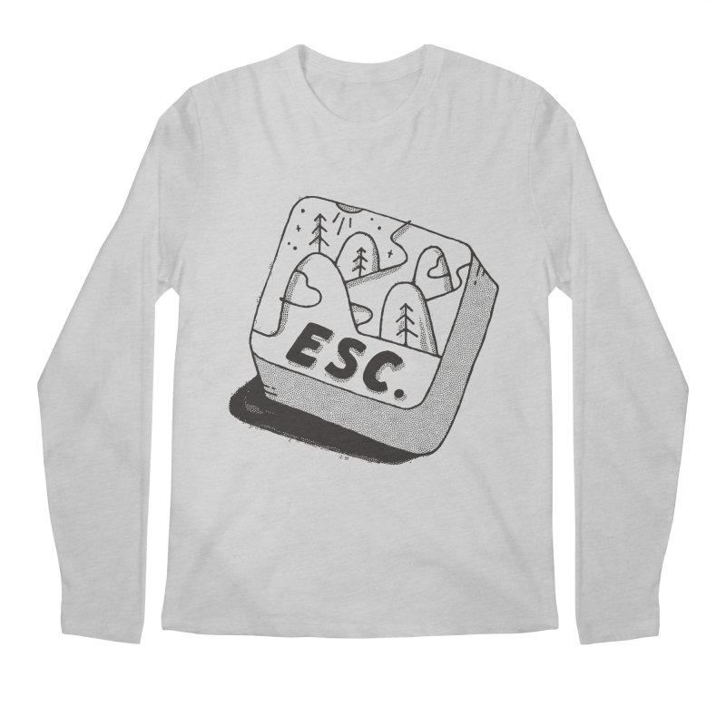 Esc Men's Regular Longsleeve T-Shirt by skitchism's Artist Shop