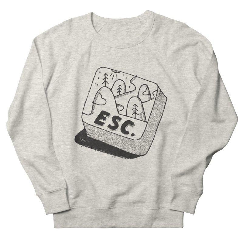 Esc Women's French Terry Sweatshirt by Tatak Waskitho