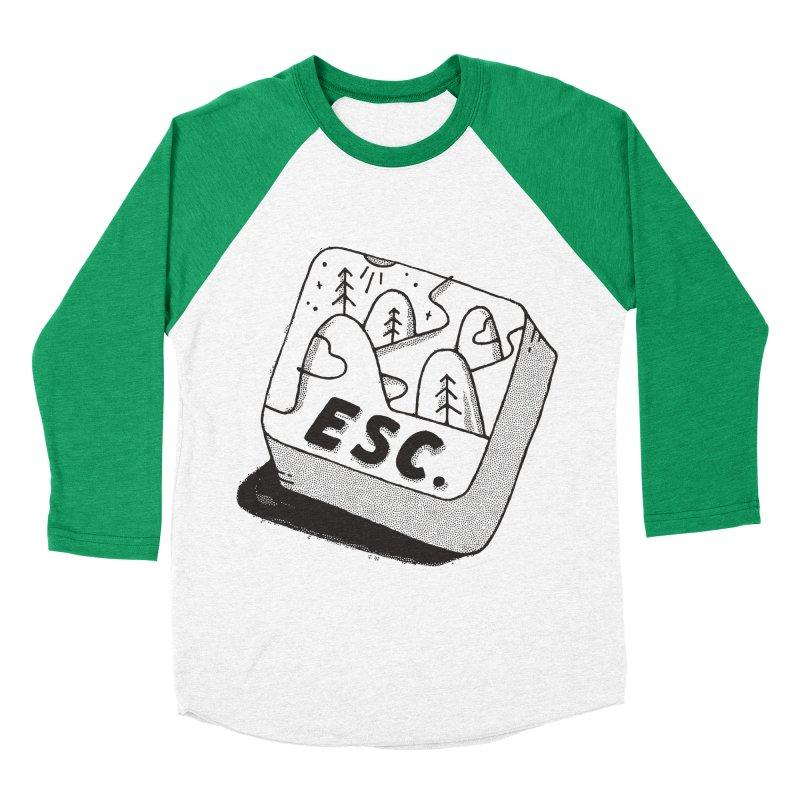 Esc Women's Baseball Triblend Longsleeve T-Shirt by skitchism's Artist Shop