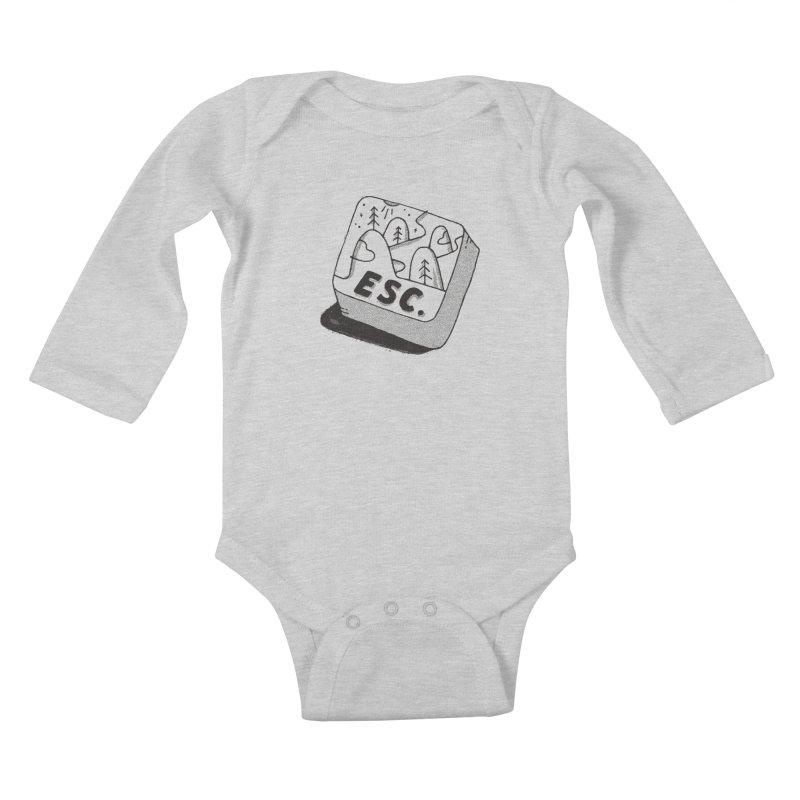 Esc Kids Baby Longsleeve Bodysuit by Tatak Waskitho
