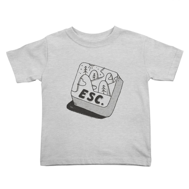 Esc Kids Toddler T-Shirt by Tatak Waskitho