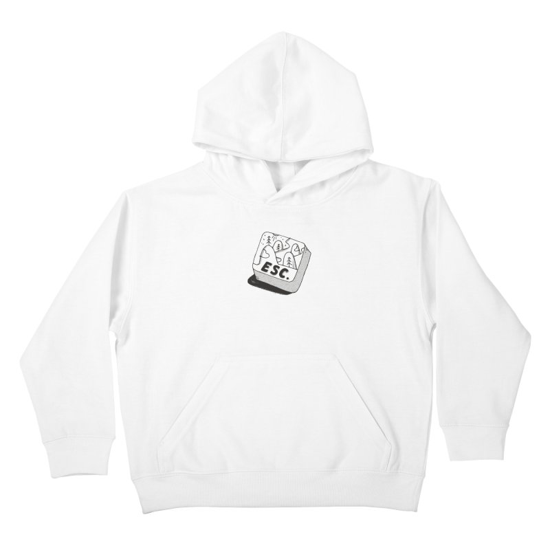 Esc Kids Pullover Hoody by Tatak Waskitho