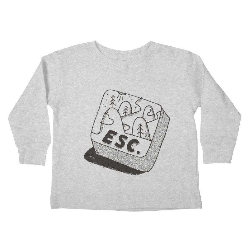 Esc Kids Toddler Longsleeve T-Shirt by Tatak Waskitho