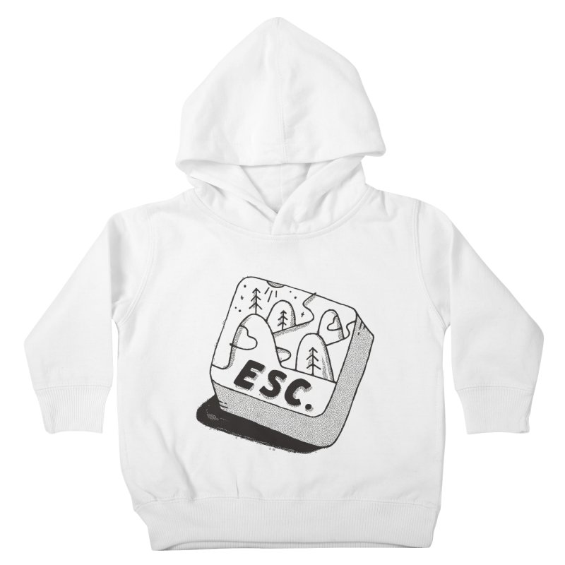 Esc Kids Toddler Pullover Hoody by skitchism's Artist Shop