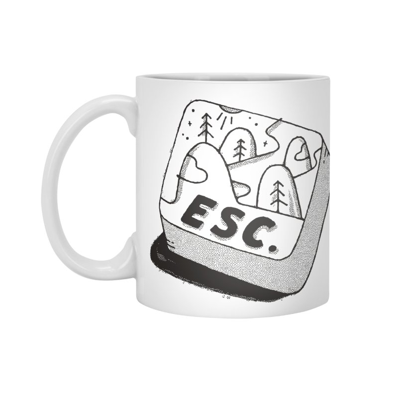 Esc Accessories Standard Mug by Tatak Waskitho