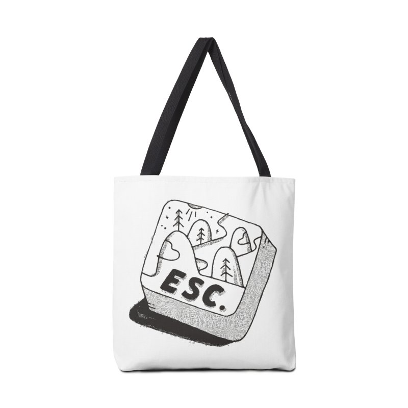 Esc Accessories Bag by skitchism's Artist Shop
