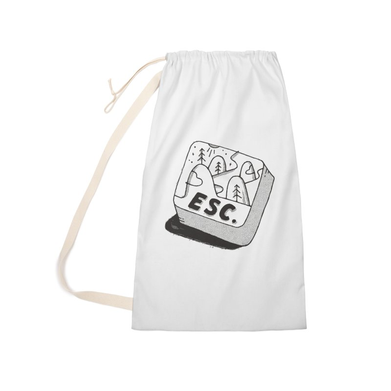 Esc Accessories Laundry Bag Bag by Tatak Waskitho