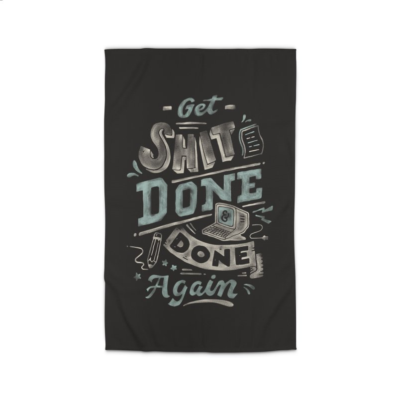 Get Shit Done Home Rug by Tatak Waskitho