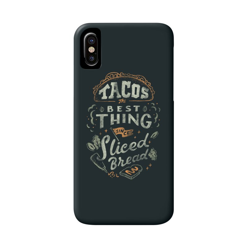 Best Tacos Accessories Phone Case by skitchism's Artist Shop