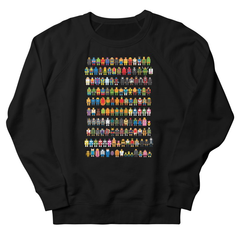 Mini Pixels Women's Sweatshirt by sknny