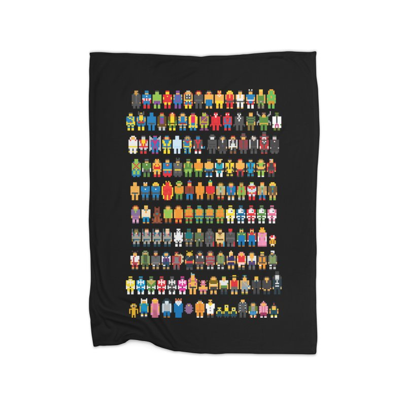 Mini Pixels Home Blanket by sknny