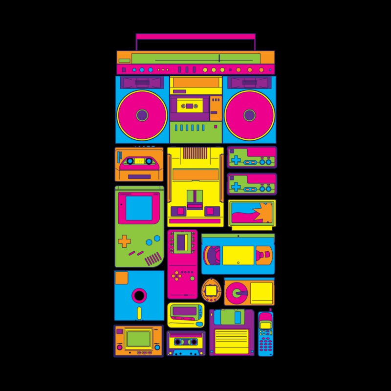Nostalgic Gadgets Men's T-shirt by sknny