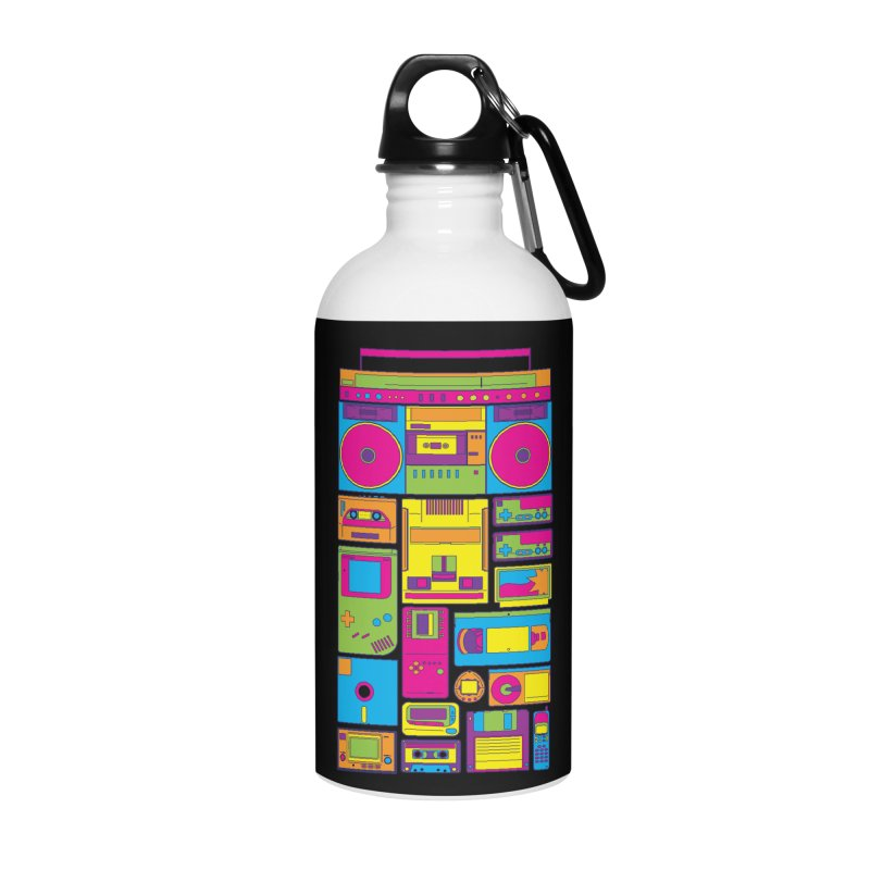 Nostalgic Gadgets Accessories Water Bottle by sknny