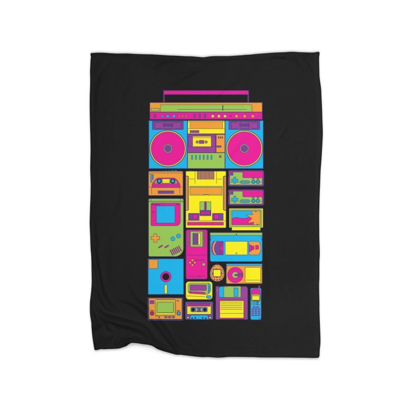 Nostalgic Gadgets Home Blanket by sknny